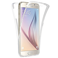 ל Samsung Galaxy S7 Edge שקוף מגן גוף מלא מגן צבע אחיד TPU Samsung S7 edge / S7 / S6 edge / S6