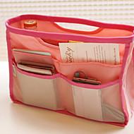 χρώμα καραμέλας φορητές τσάντες καλλυντικά πακέτο εισδοχής πλύσης πακέτο οργανωμένα ταξίδια φινίρισμα πακέτο