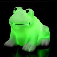 kreative fargeskiftende fargerik lykkelig frosk ledet nattlys