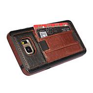 Varten Samsung Galaxy Note Korttikotelo / Tuella / Koristeltu Etui Takakuori Etui Geometrinen printti Tekonahka Samsung Note 5
