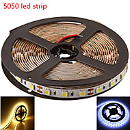 5m hry® SMD5050 300LED warm / koel wit kleur LED strip licht (12V)