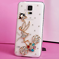 Luxury Plastic Diamond Look Back Cover for Samsung Galaxy S5