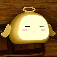 חיישן יצירתי אור לבן חם מלאך הנוגע מנורת לילה התינוק לישון (צבע שונה)
