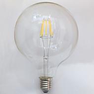 1 pcs E26/E27 8W 8 COB 750 lm Warm White G125 edison Vintage LED Filament Bulbs AC 220-240 V