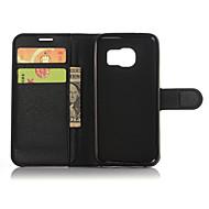 ægte læder pung Taske til Samsung Galaxy S7 plus s7 kant / s7 / s6 kant + / s6 kant / s6 / S5 / s4 / s3
