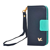 Retro Bird Case Flip Leather Cover for Samsung Galaxy S3/S4/S5 Wallet +Card Slot Vintage
