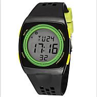 SYNOKE Muškarci Sportski sat Ručni satovi s mehanizmom za navijanje digitalni sat Šiljci za meso LCD Kronograf Vodootpornost alarm