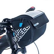 ROSWHEEL® 자전거 가방 3L자전거 핸들바 백 방수 지퍼 / 방습 / 충격방지 / 착용할 수 있는 싸이클 가방 PU 피혁 / 메쉬 / 의류 / 400D 나일론 싸이클 백 사이클링 20*16*10.5
