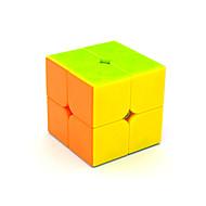 Yongjun® 부드러운 속도 큐브 2*2*2 속도 매직 큐브 무지개 ABS