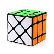 Juguetes Yongjun® Cubos Mágicos Alienígena Velocidad la magia del juguete Cubo velocidad suave rompecabezas cubo mágico Negro ABS