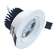 4W LEDダウンライト 320-400 lm クールホワイト ハイパワーLED 装飾用 AC 85-265 V 1枚