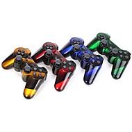 choque controlador inalámbrico dual de seis ejes de Bluetooth para Sony PS3 (multicolor)