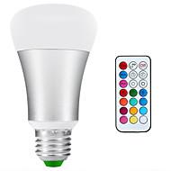 10W E26/E27 LED-globepærer A80 1 COB 900lm-1200lm lm Naturlig hvid / RGB Dekorativ / Vandtæt / Justérbar lysstyrke AC 85-265 V 1 stk.