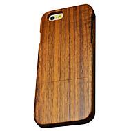 iphone 7 mais tampa traseira ultra-fino / outras de madeira de madeira dura maçã iphone 6s 6 mais SE 5s 5