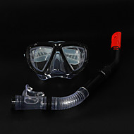 Snorkeling Packages Snorkels Snorkel Set Diving Masks Diving / Snorkeling silicone PVC Black Blue