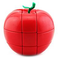 Yongjun® Smooth Speed Cube 3*3*3 / Alien Magic Cube Red / Green ABS