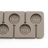 hvis skimmel slikkepind bølge plade runde 6 chokoladebarer og endda mad-grade silikone forme bagning diy fda