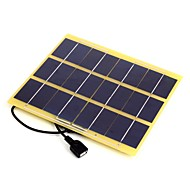5W 5V USB Output Monocrystalline Silicon Solar Panel Charger for iPhone 6S Samsung HUAWEI (SWB5005U)
