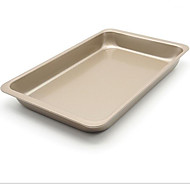 Us 11-Inch Rectangular Baking Pan Cake Mold Grilled Chicken Wings Wide Box Bread Non-Stick FDA