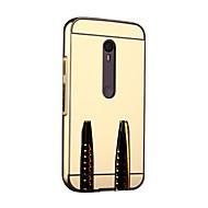 إلى موتورولا حالة مرآة غطاء ممتص الصدمات غطاء لون صلب قاسي معدن Motorola Moto G3