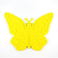 Cucina creativa Gadget / Migliore qualità / Alta qualità Cartoon Butterfly Models Slip Silicone Mat Heat Mat A-24 Silicone 18*14.5*0.4