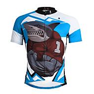 PALADIN® Maglia da ciclismo Per uomo Maniche corte BiciclettaTraspirante / Asciugatura rapida / Resistente ai raggi UV / Morbido /