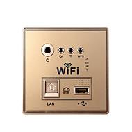 muro incorporato intelligente 150Mbps router wireless per uso domestico