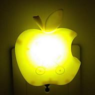 (Färg slumpvis) Apple Smart ljusstyrning ledde energibesparande nattlampa