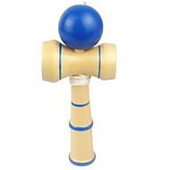 brinquedo de madeira tetherball
