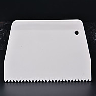 1pc Cake Serration Scraper/Spatula Set Dough Cutter Plastic Smoother Multifunction Blade For Cake   Baking Tools