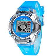 Kids' Sport Watch LED Digital Strap Watch Rubber Band Black Blue Red Green Pink Purple