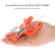 Magic Solar Powered Lobster Cute Toys For Children Solar Lobster