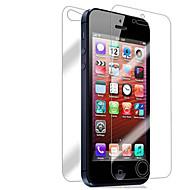 [3-Pack] edestä ja takaa Retina-näyttö suojelija iPhone 5/5S