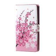 Varten Huawei kotelo Lomapkko / Korttikotelo / Tuella Etui Kokonaan peittävä Etui Puu Kova Tekonahka Huawei Huawei Y560