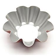 우리의 새로운 매체 꽃 모양의 계란 타트 타트 과일 파이 접시 램프 금형 데이지 케이크 금형 샴페인 골드