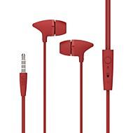 UiiSii UiiSii C100 カナルイヤパッド(イン・イヤカナル式)Forメディアプレーヤー/タブレット / 携帯電話 / コンピュータWithマイク付き / DJ / ボリュームコントロール / ゲーム / スポーツ / ノイズキャンセ / Hi-Fi / 監視