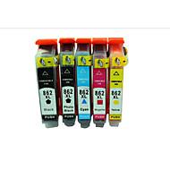 Hewlett-Packard 862 inktcartridges Hewlett-Packard Photosmart d5468 b8558 c5388 printer cartridges