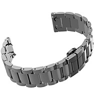 Stainless Steel Watch Band Butterfly Buckle Strap Bracelet for Samsung Gear S2 Classic
