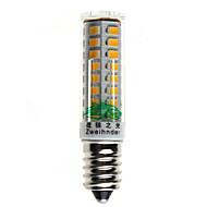 10W E14 LED a pannocchia T 51 SMD 2835 560 lm Bianco caldo / Bianco Decorativo AC 220-240 V 1 pezzo