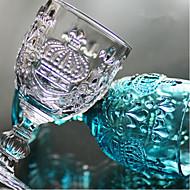 Vintage Cut Glass Cup Juice Cup Bedste kvalitet / Høj kvalitet Glas Værktøjssæt