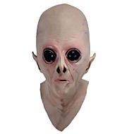 Scary Silicone Face Mask Alien Ufo Extra Terrestrial Party Et Horror Rubber Latex Full Masks For Halloween Party Toy