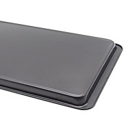 United States 14.5 Inch Large Rectangular Baking Pan Oven Body Chassis Cookies Shallow Pan Nonstick FDA