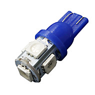 10 X Ultra Blue T10 5-SMD 5050 LED INTERIOR Light bulbs W5W 2825 158 192 194 168