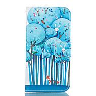 voor de Samsung Galaxy a3 a5 2017 blauw boom lederen portemonnee voor de Samsung Galaxy a5 a7 a3 a5 a7 2016 2017