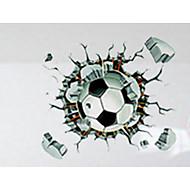 3D ウォールステッカー プレーン・ウォールステッカー 飾りウォールステッカー,PVC 材料 取り外し可 / 再利用可 ホームデコレーション ウォールステッカー・壁用シール