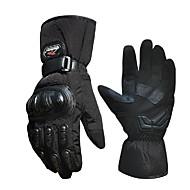 σκι ζεστά γάντια αντιανεμικό ηλεκτρικό αγωνιστικό αυτοκίνητο γάντια μοτοσικλέτας βροχή το κρύο του χειμώνα γεμάτο δάχτυλο