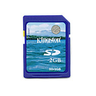 Kingston 2GB Clase 2 SD/SDHC/SDXCMax Read SpeedMinimum of 2MB/sec (MB/S)Max Write SpeedMinimum of 2MB/sec (MB/S)