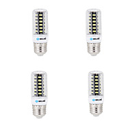 4pcs BRELONG E14 / G9 / GU10 / B22 / E26 LED Corn Lights 42 SMD 5733 800 lm Warm White / Cool White AC 220-240 V