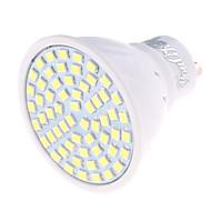 4 GU10 LED-spotlys MR16 60 SMD 2835 350 lm Varm hvid / Kold hvid Dekorativ AC 220-240 V 1 stk.