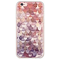 Capa traseira Ultra Fino / Translúcido Azulejo TPU Macio Case Capa Para Apple iPhone 6s Plus/6 Plus / iPhone 6s/6 / iPhone SE/5s/5